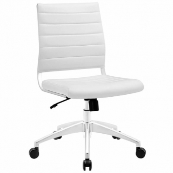 Modway Jive Mid Back | silla de oficina blanca Mejor oferta